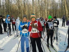 Спартакиада работников образования, городской финал- Лыжные гонки