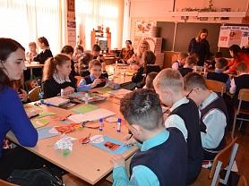 Мастер-класс, посвященный дню Защитника Отечества в Общеобразовательной школе №25!