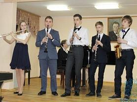 «Музыкальная мозаика» – состоялся отчетный концерт отделения духовых и ударных инструментов