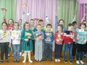Неделя космонавтики для воспитанников Школы раннего развития «Непоседы»