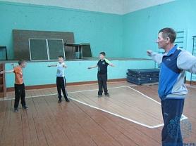 Открытый урок физической культуры во 2 и 4 классах.
