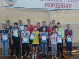 Первенство городского округа Саранск по настольному теннису