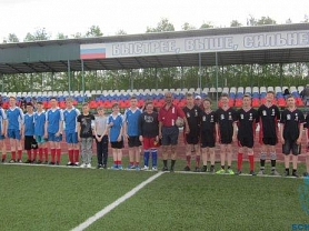 Зональные соревнования по футболу среди сельских команд «Колосок»
