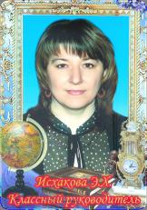 Исхакова Эльвира Харисовна