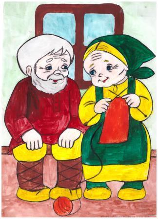 Картинки бабушка рядышком с дедушкой для детей