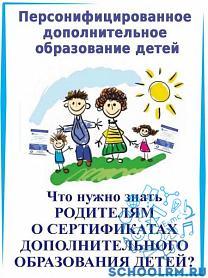 Персонифицированное дополнительное образование детей