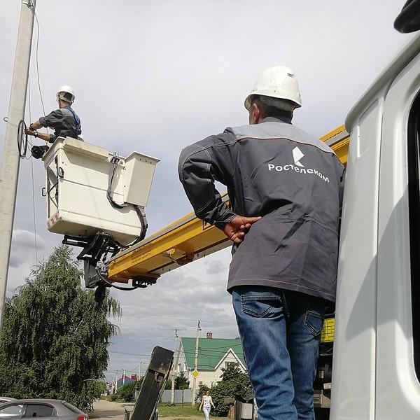 «Ростелеком» построил оптику до четырех сёл Мордовии