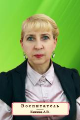 Кикина Людмила Владимировна