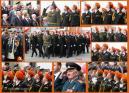 """Кадеты МОУ """"Лицей №26"""" ежегодно принимают участие в параде."""
