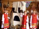 В музее этнографии Любимый уголок в школе – Музей этнографии.                     4.04.14.