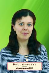 Маматовская Екатерина Сергеевна