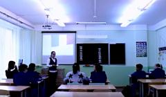 Урок английского языка в 6 классе (учитель Мартынова М.А.)