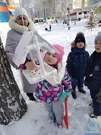 Акция «Покормим птиц зимой», группы №10