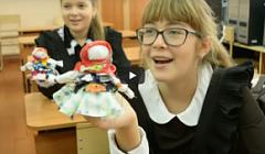 """Урок  технологии: обслуживающий труд для 6 класса """"Изготовление куклы-оберега"""" завершение урока"""