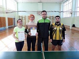 Соревнования по настольному теннису среди работников образования г. о. Саранск