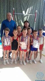 Межрегиональный турнир по спортивной гимнастике