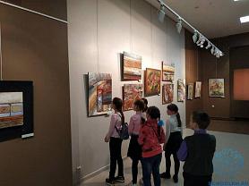 Уроки искусства в Мордовском республиканском музее изобразительных искусств им. С.Д. Эрьзи