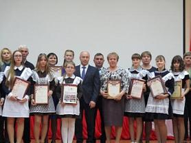 Чествование участников конкурса «Учитель года-2019» и победителей и призёров олимпиад