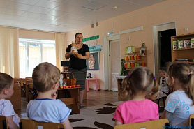 Открытые просмотры в детском саду.