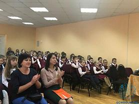 """""""Мы с концертом в гости к вам!"""" - учащиеся и преподаватели выступили в общеобразовательной школе № 25"""