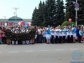 Участие воспитанников  и педагогов детского сада в проведении мероприятий, посвященных празднованию 74 - й годовщины Победы в Великой Отечественной войне