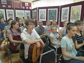 Ученики и преподаватели школы вновь украсили своими выступлениями мероприятие в музее А.И. Полежаева