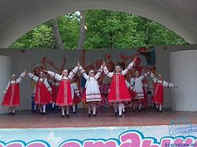 Праздничные мероприятия в Парке культуры и отдыха Пролетарского района.