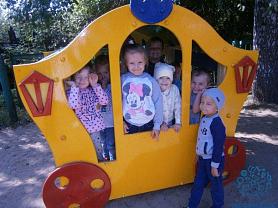 «Разноцветное лето в детском саду»