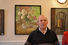 Открытие выставки Бикбаева Хафиза Ибятулловича