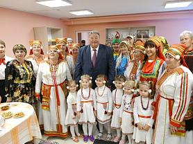 Открытие Районного дома культуры