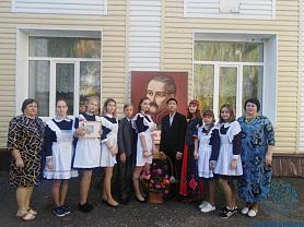 Линейка, посвященная 215-летию со дня рождения А.И. Полежаева
