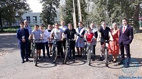 Учащиеся приняли участие в велоатлоне