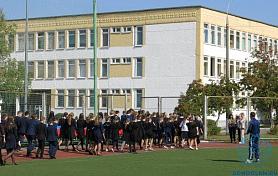 В школе прошла учебно-тренировочная эвакуация