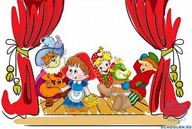 """Театр """"Крошка"""" в гостях у ребят."""