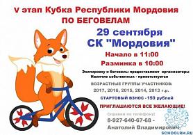 5 этап Кубка Республики Мордовия по беговелам