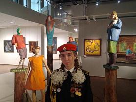 Кадетский десант в музее