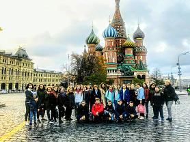 Экскурсионная поездка  5 класса живописного отделения в Москву!