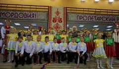 """Творческий коллектив нашей школы на фестивале """"Шумбрат, Мордовия!"""""""