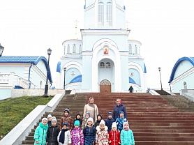 Экскурсия в храм Казанской иконы Божией Матери (ноябрь, 2019)