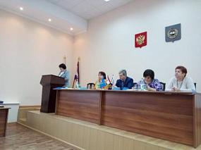 XXX отчетно-выборная конференция Рузаевской районной организации профсоюза работников народного образования