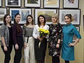 Открытие персональной выставки Асабовой И. Г.