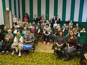 Концерт в доме-интернате для инвалидов и престарелых