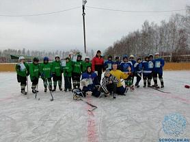 Муниципальный этап республиканских соревнований по хоккею «Золотая шайба»
