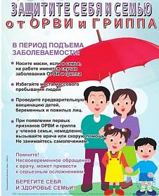 Материалы по профилактике гриппа и ОРВИ