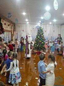 Святочные развлечения в детском саду.