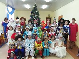"""""""Новогоднее путешествие по сказкам"""" в группе """"Малышок"""""""