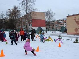 Малые Олимпийские игры в детском саду.