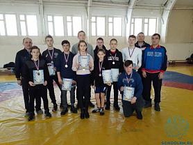 Первенство Республики Мордовии по вольной борьбе среди юношей и девушек 2003-2005 г.р.