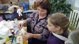 Мастер-класс в Доме детского творчества