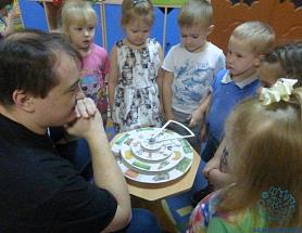 Игротека детей и родителей в группе «Солнышко»